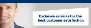 Exclusive services for the best customer satisfaction